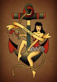 Sailor-Jerry-poster-Tattoo-Vintage-wine-and