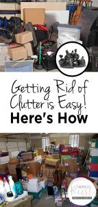 Getting Rid of Clutter is Easy! Here's How - Wrapped in Rust Getting Rid Of Clutter, Getting Organized, House Cleaning Tips, Cleaning Hacks, Decluttering Ideas Feeling Overwhelmed, Temporary Storage, Declutter Your Life, Clutter Free Home, Model Homes