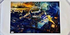 Kathryn Beaumont Signed The Voice Of Wendy Walt Disneys Peter Pan 11x17 Canvas Photo Psa (B) @ niftywarehouse.com #NiftyWarehouse #Disney #DisneyMovies #Animated #Film #DisneyFilms #DisneyCartoons #Kids #Cartoons