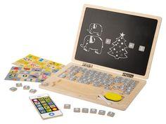 PLAYTIVE®JUNIOR Dřevěná naučná...   LIDL-SHOP.CZ Lidl, Nintendo Consoles, Notebook, Laptop, Toys, Miniatures, Magnetic Chalkboard, Learning Through Play, Plush Rocking Horse