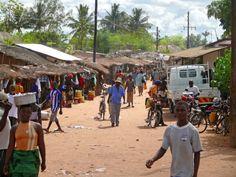 Street scene in Maputo, Mozambique