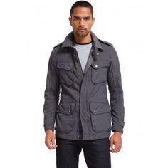 Military Field Jacket - Grey