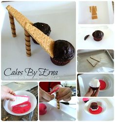 High Heel Cupcakes, these are perfect for you (if you ate unhealthy stuff.)~