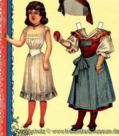 McLoughlin-Bros-Dressing-Dolls-Anziehpuppen-Papierpuppen-Reprint-1890-Paperdolls