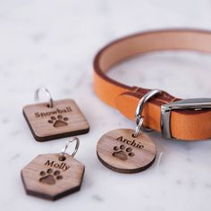 Personalised Paw Pet Tag