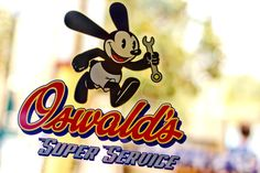 This is a nice use of blur in the background to make the message stand out. And making the words 3d makes it stand out so it does not look like it was just thrown onto the page. Oswald's Service Station by Jaalin32.deviantart.com