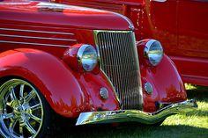 Cool Red Hotrod Photograph by Dean Ferreira Fine Art
