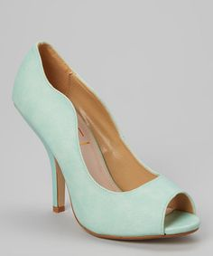 Look what I found on #zulily! Jacobies Footwear Blue Mia Pump by Jacobies Footwear #zulilyfinds