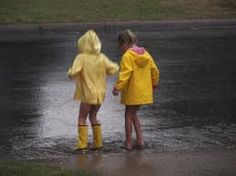 Oh, to be a child playing in the rain...