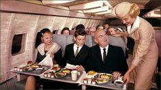 Vintage flight attendant/ stewardess