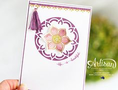 Louise Sharp | Eastern Palace - Stampin' Up! Artisan Blog Hop  | Stampin' Up!