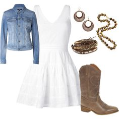 Country Theme. Love the dress Sweet 16 Outfits, Sweet 16 Dresses, 15 Dresses, Cute Outfits, Country Dresses, Country Style Outfits, Country Wear, Country Fashion, Country Sweet 16