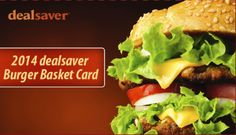 $20 for the 2014 Burger Basket Card Featuring SEVEN Local Restaurants! Click here to see who they are!