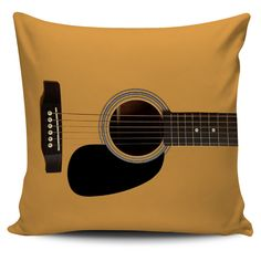 """If you love to jam and play guitar, this is the perfect pillow set for your sofa or couch. - Quality polyester peach skin fabric. durable and eco-friendly - 17.7"""" W and 17.7"""" H - Each cover includes a"""
