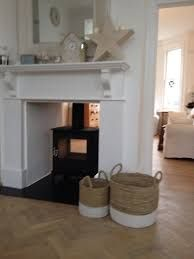 Image result for dual aspect wood burner