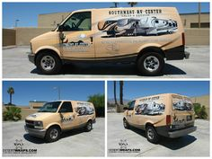 Viewing from multiple angles! A signature DesertWraps.com install featuring branding and high resolution graphics for Southwest RV Center. Contact DesertWraps.com at 760-935-3600. #VanWrap #Branding #Advertising #PalmDesert #PalmSprings #Indio