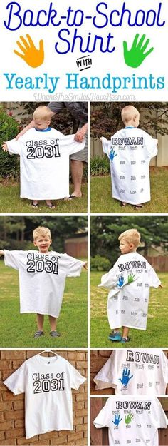 Such a cute idea!!! #ParentingTips Omg doing this when Mckinley goes into Kindergarten