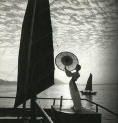 "A 1958 photograph by Derujinsky,"" in the June 2012 issue of Harper's Bazaar"