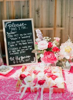 Garden Party Bridal Shower by A Vintage Affair Such a cute idea!!! @angicole92