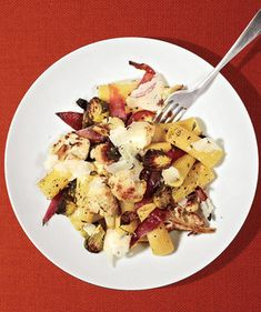 Rigatoni With Roasted Cauliflower and Brussels Sprouts   Think you don't like Brussels sprouts? These tempting recipes for sides and mains will change your mind.