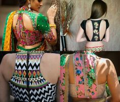 7fa6b2c45a4afd 116 best blouse backs images | Blouse styles, Saree blouse patterns ...