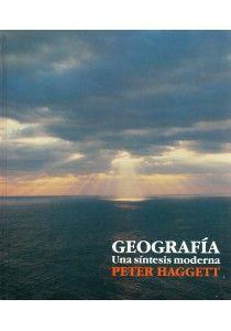 GEOGRAFÍA. UNA SÍNTESIS MODERNA P. Haggett. Este libro es un intento de presentar el espectro total de la geografía en un contexto moderno. Trata de sintetizar a dos niveles: el primero, mediante la unión de las distintas tradiciones y temas que componen dicha especialidad y, el segundo, acentuando el papel sintetizador que desempeña la geografía como un todo en relación a otras especialidades colindantes.