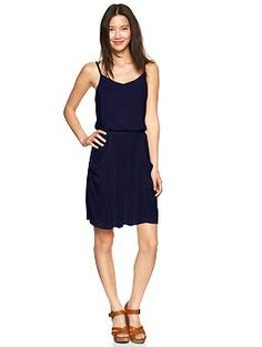 Drapey dress with pockets