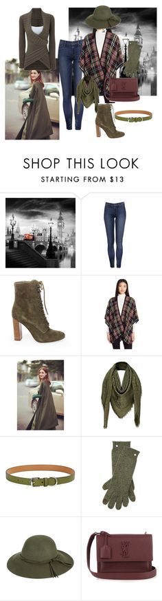 """Olive green"" by colonae ❤ liked on Polyvore featuring Steve Madden, Trina Turk, Louis Vuitton, Lauren Ralph Lauren, Ralph Lauren, COLLECTION 18 and Yves Saint Laurent"
