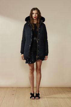 RUBY Rooftop Puffy Jacket, Chancellor Sweater & Frances Star Minidress