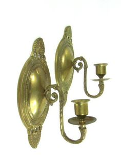 Hey, I found this really awesome Etsy listing at https://www.etsy.com/listing/175284571/brass-candle-holder-candle-sconcevintage