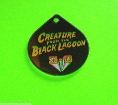 CREATURE FROM BLACK LAGOON BALLY 1992 NOS PINBALL MACHINE PLASTIC PROMO KEYCHAIN #ballypinball #pinballpromos