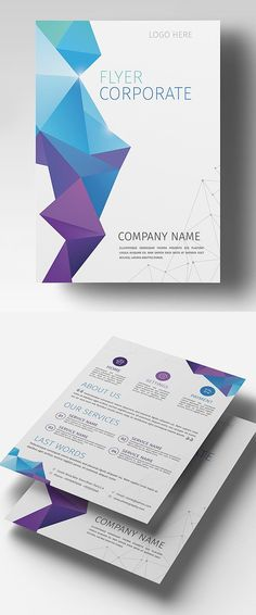Corporate Flyer Template #flyerdesign #psdtemplate #corporate #party #event