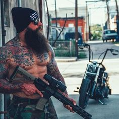 You Can Tackle Hair Loss Naturally Bearded Tattooed Men, Bearded Men, Viking Power, Badass Beard, Epic Beard, Beard Cuts, Hot Guys Tattoos, Viking Beard, Moustache