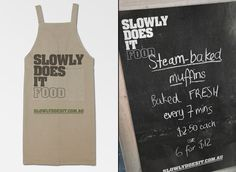 Slowly Does It Food branding by BERG 03 Slowly Does It Food branding by BERG