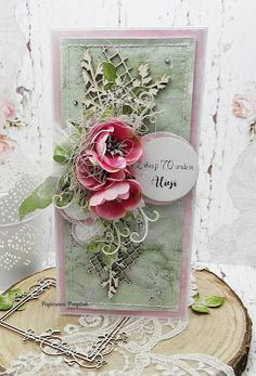 Paper Crafts, Diy Crafts, Diy Tutorial, Cardmaking, Decorative Boxes, Shabby Chic, Cards, How To Make, Scrapbooking