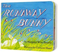 Runaway Bunny Board Book by Margaret Wise Brown Best Children Books, Childrens Books, Baby Storytime, Baby Your Baby, Bunny Book, Margaret Wise Brown, Good Night Moon, Baby Invitations, Got Books