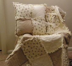 i wanna make this!!!!!!!!    Easy FUN Rag Quilt PatternGreat way to use by AnnaMaePatterns