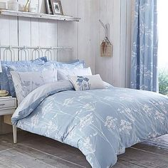 dorma duck egg maiya bed linen collection dunelm. Black Bedroom Furniture Sets. Home Design Ideas