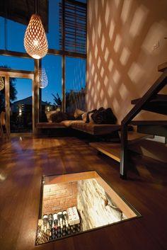 Floor Wine Cellar * * More Home Bar Ideas here: http://homebar.involvery.com/