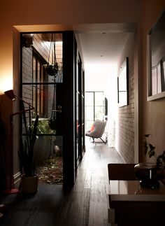 Hallway atrium, terrace house