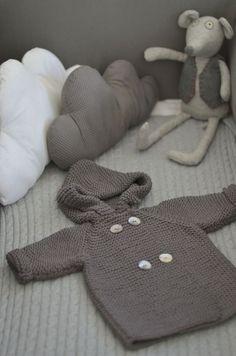 cloud pillows + knit