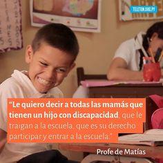 El compromiso de una maestra que creyó en su alumno haciendo que se cumplan sus derechos brindando la oportunidad que se desarrolle como persona a través de la educación. Conocé la historia de Matias entrando al link en la bio. #DaleParaguay