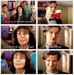 The Doctor appears in Sarah-Jane's show! << The Sarah Jane Adventures was the best tv show in life<<<<<< Oh,man! I soooo can't wait to see that episode!!