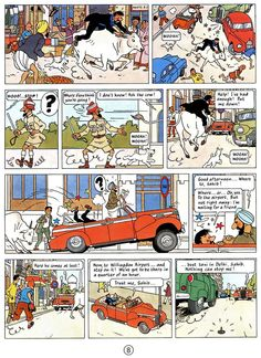 Herge's Tintin • Tintin, Herge j'aime