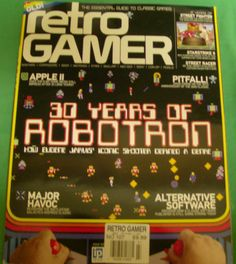 Retro Gamer Magazine Robotron Pitfall Apple II Street Fighter Issue Load 109