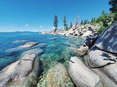 Secret Spot on Lake Tahoe Sand Harbor Beach — Lifestyle Media Lake Tahoe Map, Lake Tahoe Beach, Tahoe Rentals, Kayak Rentals, Lake Tahoe Restaurants, King Beach, Incline Village, Harbor Beach, West Coast Road Trip