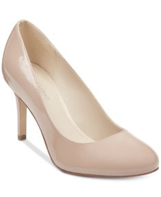 0d8367165e4f Marc Fisher Chris Round-Toe Pumps - Tan Beige 8.5M