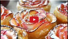 Helt underbart vackert och enkelt sättatt göra äppelbakelser på. Lägg till lite vaniljsås eller glass så har du snabbt en god efterrätt! Kolla inhur du gör genom att klicka på bilden! Men se förs…