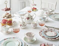 Mix and match with Royal Albert to create a stunning afternoon tea party