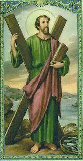 santos e santas católicos santo André - Pesquisa Google